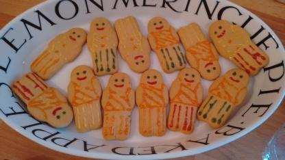 Shakespearean players gingerbread
