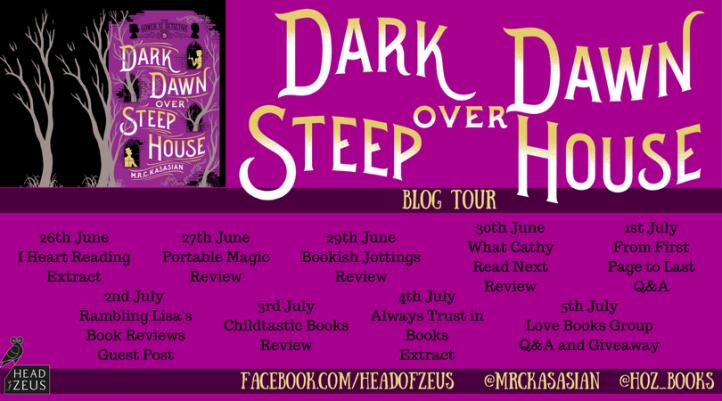 Dark Dawn blog tour