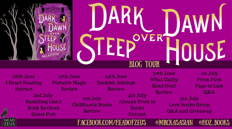 Dark Dawn blog tour